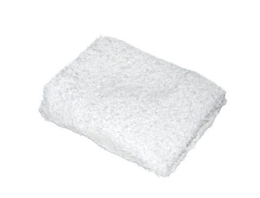 Frotteewaschtuch 25x25cm weiß